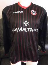 Sheffield United FC Black Away 2011/12 Shirt. Size Small