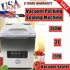 Commercial Vacuum Sealing Packaging Machine Sealer Food Chamber Automatic
