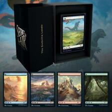 10x MTG Secret Lair The Godzilla Lands in Hand