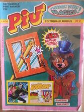 PIU e il suo Gioco n°2 1982  Ed. Domus  [G416]
