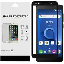 For Alcatel 1X Evolve/Avalon V/Tcl Lx Card Package Black edged Tempered Glass