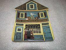 Charles Wysocki Folktown Plate The Stoolpidgeon Gossip Shop Bradford Exchange