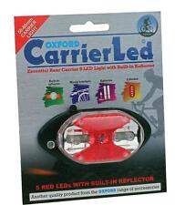 Cycle Bike Light Rear Carrier LED With Reflector OF287