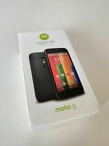 New In Box Motorola Moto G XT1034 - Black (Unlocked) Smartphone 16GB