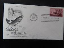 WILDLIFE CONSERVATION SERIES 1956  FIRST DAY OF ISSUE!  ZZ957XXX