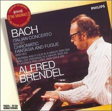 Bach: Italian Concerto & Other Pieces by Alfred Brendel (CD, 2006, Decca) VGC