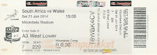 South Africa v Wales 2nd Test 21 Jun 2014 Kings Park, Durban RUGBY TICKET