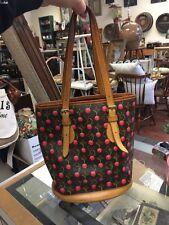 Auth Louis Vuitton Monogram Cherry Shoulder Bag Brown/Cherry - FL0025
