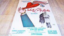 SALUT L'ARTISTE !  yves robert  affiche cinema bd dessin herve morvan 1973