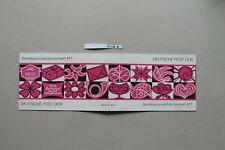 DDR Sondermarkenheftchen SMHD 6baaz, Inhalt postfrisch,