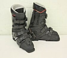 Vintage 1980s Killy Trappeur Downhill Ski Boots Black US Men's 9.5 GEAT LOOK