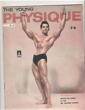 Gay Art The Young Physique Bodybuilding Mag/#13 Gene Shuey/Tab Hunter 4-61 G.B.