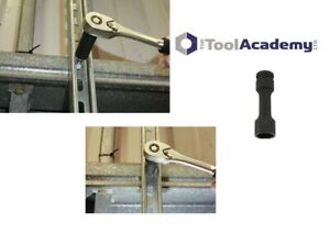 Strutt Channel Socket 17mm Strut Fixing Bolt 17mm 72mm Length 1/2 Drive UNISTRUT
