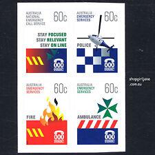 2010 - Australia - Emergency Services - booklet set of 4 - MNH