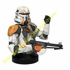 Star Wars EpIII Airborne Clone Trooper Mini Bust by Gentle Giant - NEW