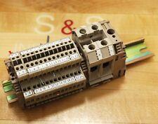 Weidmuller WDK2.5 Terminal Block. 400V 2.5mm - USED