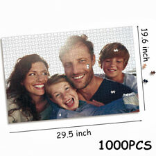 1000pcs Personalised Photo Jigsaw Puzzle Collage in Box Personal Custom Images