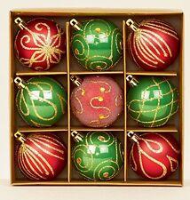 Decorazioni rosso Natale Natale per feste e party