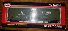 Model Power HO Scale US Army Tank Buster DOD Ammo Boxcar #99162, NIB (14C)