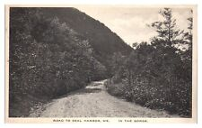 Road to Seal Harbor, Maine Postcard *5N34