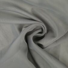 "Sheer Voile Fabric 118"" Wide Curtain Drapery and Apparel per yard 100% polyester"