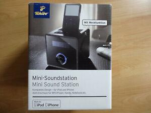 tchibo Mini-Soundstation für iPod, iPhone, Radio,Wecker