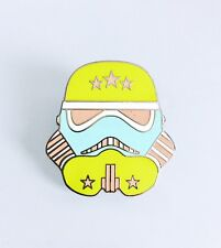 Disney Star Wars Storm Trooper Green Retro Stars Stormtrooper Helmet Pin 116259