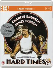 HARD TIMES Charles Bronson James Coburn BLURAY+DVD in Inglese NEW .cp