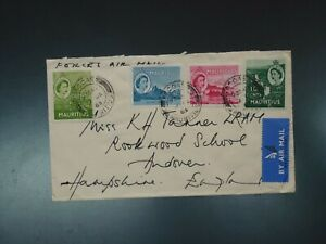 MAURITIUS - 1963 SPECIAL MOBILE FORCE, VACOAS COVER TO UK  (CVR.A1)