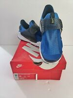 Nike Sock Dart Men's Running Shoes 819686-400 Blue Volt Size 10 with Box