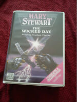 Mary Stewart Scarce 10 Cassette Audio Book THE WICKED DAY Read By Stephen Thorne