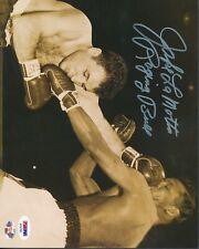 Jake LaMotta Raging Bull Signed 8x10 Photo Autograph Auto Psa/Dna Af92765