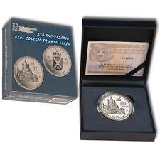 ESPAÑA 10 euros plata 2014 proof COLEGIO DE ARTILLERIA 250 aniversario