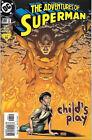 The Adventures of Superman Comic Book #588 DC Comics 2001 VERY FINE- NEW UNREAD