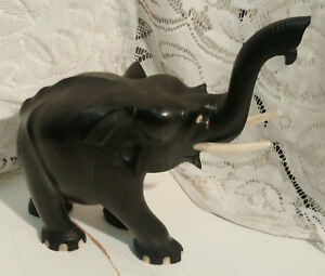 Elefanten Figur Handgeschnitzte aus afrikanischen Eisenholz