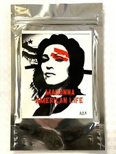 """MADONNA """"American Life"""" Taiwan Promo Postcards/Stickers Silver Foil Pack + promo"""