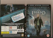 I AM LEGEND DVD 2 DISC SPECIAL EDITION STEEL BOOK RARE