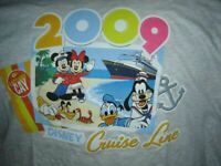 New DISNEY CRUISE LINE 2009 Mickey Mouse CASTAWAY CAY T-SHIRT, 2XL XXL With TAG