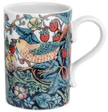 New Morris & Co Spode Strawberry Thief mug & gift box