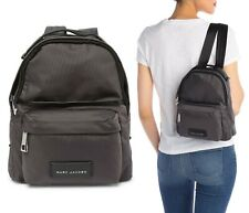 Marc Jacobs Nylon Varsity Mini Backpack DARK GREY