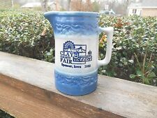 Red Wing Pottery Pitcher Clay County Fair Spencer Iowa 2002 Advertising paper