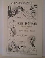 Journal Angoulême 12 timbres de BD France 1988 Bilal Moebius Forest Tardi  ...
