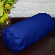 PL17g Blue Water Proof Outdoor*BOLSTER COVER*Long Tube Yoga Neck Roll CASE