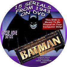 BATMAN, COMPLETE 1943 MOVIE SERIAL COLLECTION-15 MOVIE SERIALS-BLACK/WHITE-1DISK