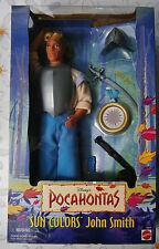Barbie Disney Mattel Colletor John Smith a. Ken Pocahontas Sammlung NRFB