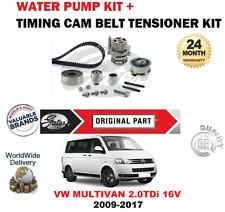 Para VW Multivan 2.0Tdi 16v Bluemotion 2009-2017 Kit de Correa Distribución y