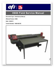 Efi H650 Field service manual