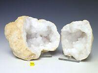 Huge Sugar Quartz Whole Geode Crystal Cluster - Natural Healing Mineral 1652g