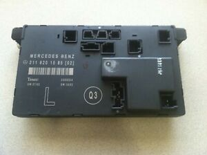 2002-2009 MERCEDES-BENZ E320 E350 E500 W211 ~ LEFT FRONT DOOR CONTROL UNIT