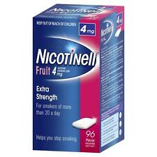 Nicotinell 4mg Fruit Gum 96 Pieces Stop Smoking Aids
